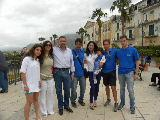 Inaugurazione Welcome Altavilla 05/05/2013: lo staff di Welcome Altaville